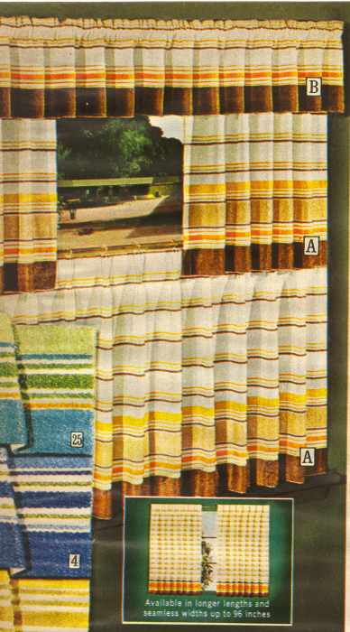 It Came From The 1971 Sears Catalog Even More Draperies