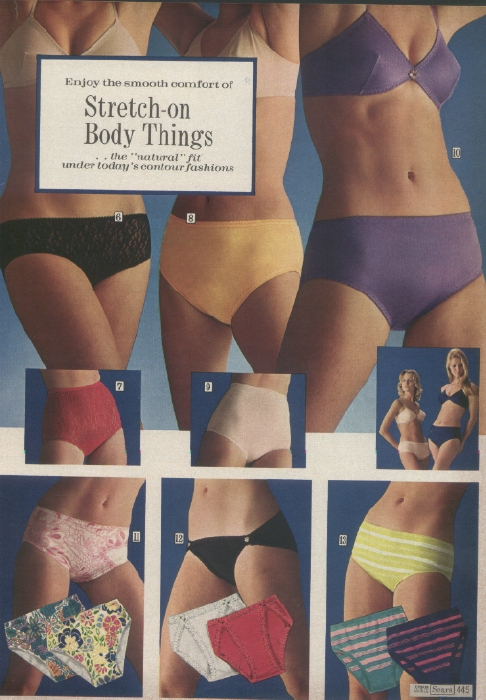 It Came From the 1971 Sears Catalog: More Ladies Underwear