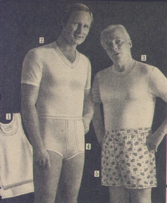 It Came From the 1971 Sears Catalog: Underwear
