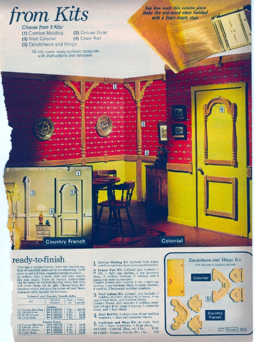 It Came From The 1971 Sears Catalog Interiors And Toilets