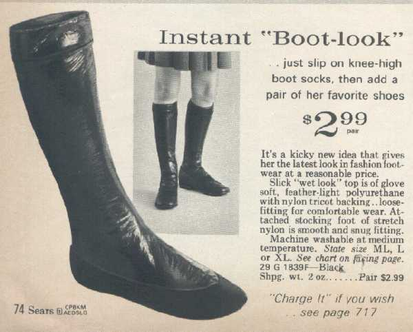 It Came From The 1971 Sears Catalog Cheap Boots