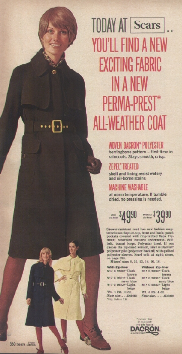 It Came From The 1971 Sears Catalog Coats