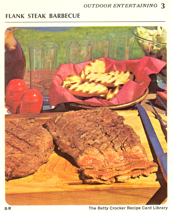 1971 Betty Crocker Recipe Library - Outdoor Entertaining ...