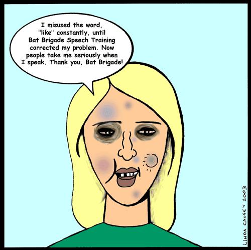 Speech therapy cartoon