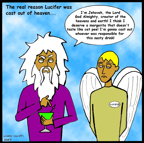 Why Lucifer was really cast out of heaven