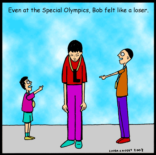 Even at the Special Olympics Bob felt like a loser