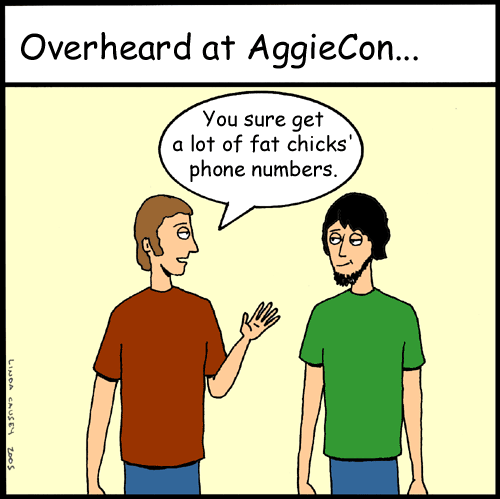Overheard at AggieCon