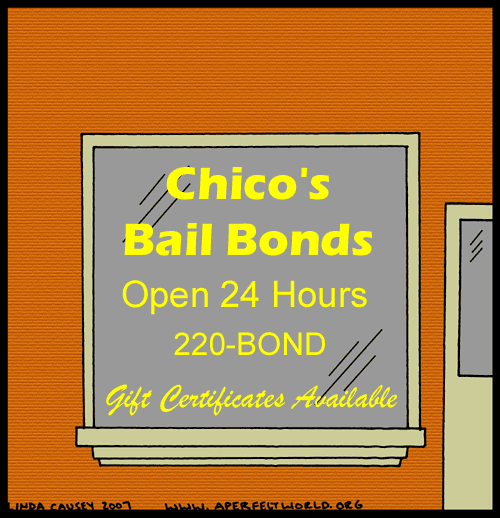 Chico's Bail Bonds: Gift Certificates Available