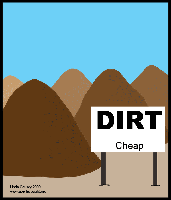 Cheap cartoons dirt cartoon picture pictures for Cheap topsoil