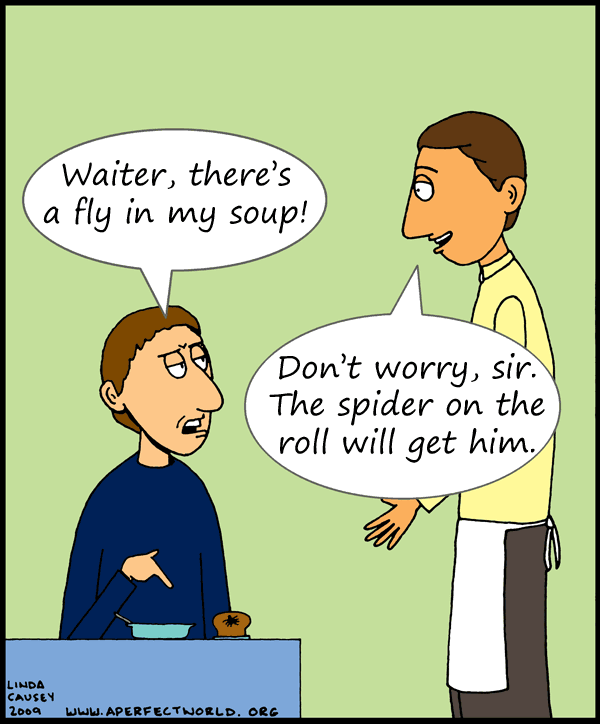 Resultado de imagen de waiter and customer cartoon