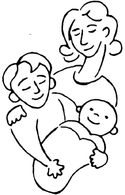 Mattress Meridian Ms Mom+and+children+clipart