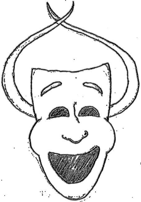 Comedy Clipart Comedy mask