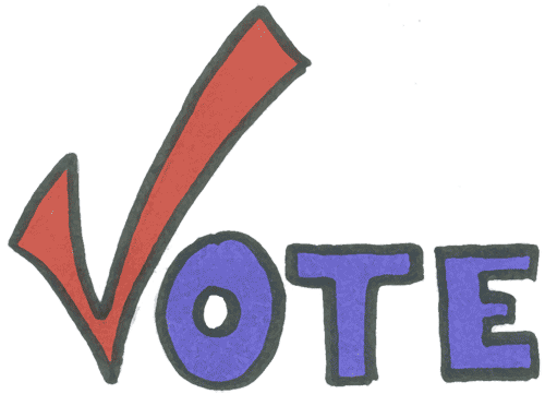 free clipart vote yes - photo #1