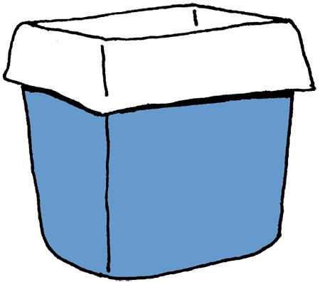 laundry basket clipart. wastebasket laundry basket clipart