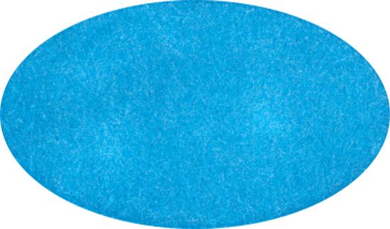 light blue oval clipart