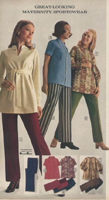 It Came From The 1971 Sears Catalog Maternity Shop