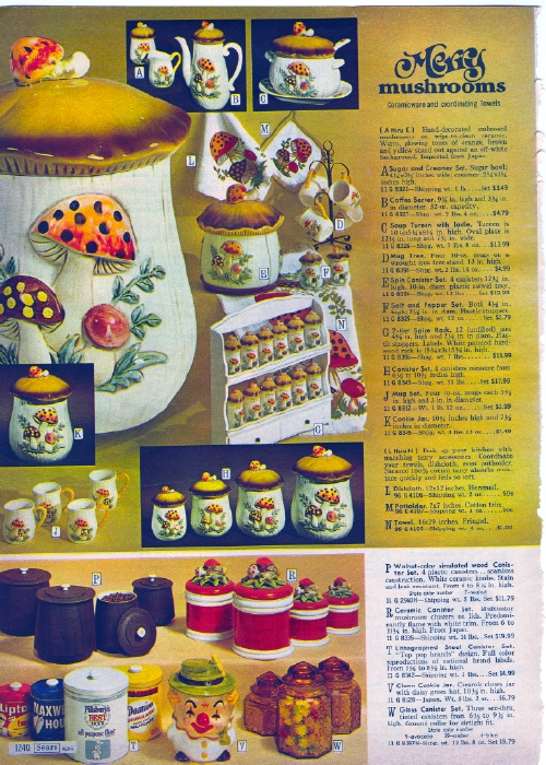 It Came From The 1971 Sears Catalog Household Items