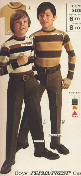 It Came From The 1971 Sears Catalog Boy S Clothes